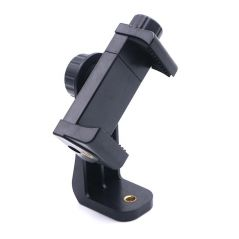 Universal Phone Tripod Mount Adapter Cellphone Clipper Stand Vertical 360 Degree Adjustable Holder