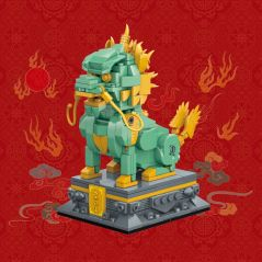 QMAN 2020NEW Ancient Chinese Classic Forbidden City Architectural Statue Building Block Sets Assembly Model Children Toy Gift