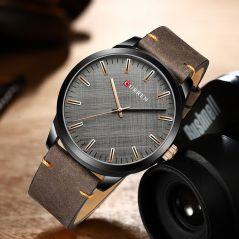 CURREN Luxury Brand Men Leather Sports Watches Men's Army Military Watch Man Big Dial Analog Quartz Clock Relogio Masculino