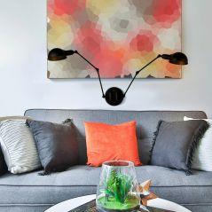 Industrial long arm adjustable American modern E27/E26 LED interior decoration wall lamp living room bedroom bedside wall light