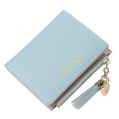 2021 Tassel Women Wallet Small Cute Wallet Women Short Leather Women Wallets Zipper Purses Portefeuille Female Purse Clutch