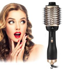 3 in 1 New One Step Hair Dryer Brush & Volumizer Hot Air Comb Roller Negative Ion Curling / Straight Hair Electric Dryer Salon