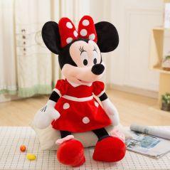 New 10/30/40/50cm Mickey Mouse Minnie Plush Dolls Animal Stuffed Toys Birthday Christmas Gift for Kids