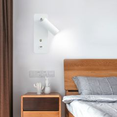 Indoor led wall lamps DC5V USB charge led  wall light bedroom modern wall lamp stair study livingroom sconce
