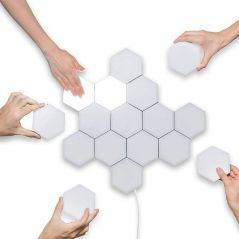 Quantum Light Touch Sensor Night Lights LED Hexagon Light Magnetic Modular touch Wall Lamp Creative Home Decor Color Night lamp