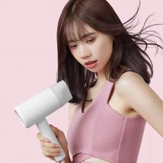 Original XIAOMI MIJIA Portable Anion Hair Dryer Nanoe Water ion hair care Professinal Quick Dry 1600W Travel Foldable Hairdryer