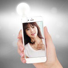 Universal Selfie LED Ring Flash Light Portable Mobile Phone 36 LEDS Beauty Lighting Night Darkness Selfie for Cell Phone Camera