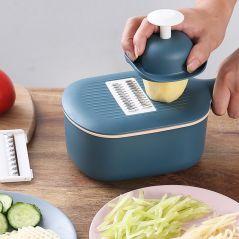 Multi-function Potato Carrot Cucumber Mandoline Slicer Cutter Grater Shredders with Strainer/Kitchen Fruit and Vegetable Tools
