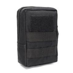 Multifunctional 1000D Outdoor Military Tactical Waist Bag EDC Molle Tool Zipper Waist Pack Accessory Durable Belt Pouch