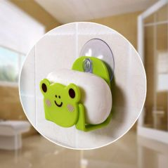 Sink Sponge Holders Kitchen Dish Cloth Storage Rack Scrubbers Holder Cartoon Sundries Racks with Strong Suction Cup