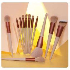 13pcs Professional Makeup Brush Set Soft Fur Beauty Highlighter Powder Foundation Concealer Multifunctional Cosmetic Tool Makeup