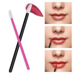 150 Pcs Disposable Lip Brush Makeup Brushes Pen Lipstick Mascara Wands Brush Cleaning Eyelash Cosmetic Brush Applicators