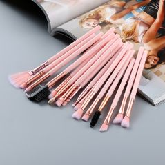 FLD 20/10/6 Pieces Makeup Brushes Set Eye Shadow Foundation Powder Eyeliner Eyelash Lip Make Up Brush Cosmetic Beauty Tool Kit