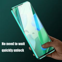 Magnetic protective case For Huawei P40 P30 P20 Pro Lite with Double-sided tempered glass For Huawei Mate30 20 Pro Lite cover