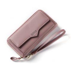 Anreisha Fashion Long Woman Purse New Designer Female Wallet Clutch PU Leather Ladies Purses Card Holder Women Phone Bags P2