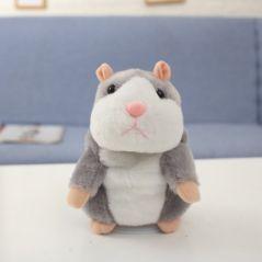 New Talking Hamster Mouse Pet Christmas Toy Speak Talking Sound Record Hamster Educational Plush Toy for Children Christmas Gift